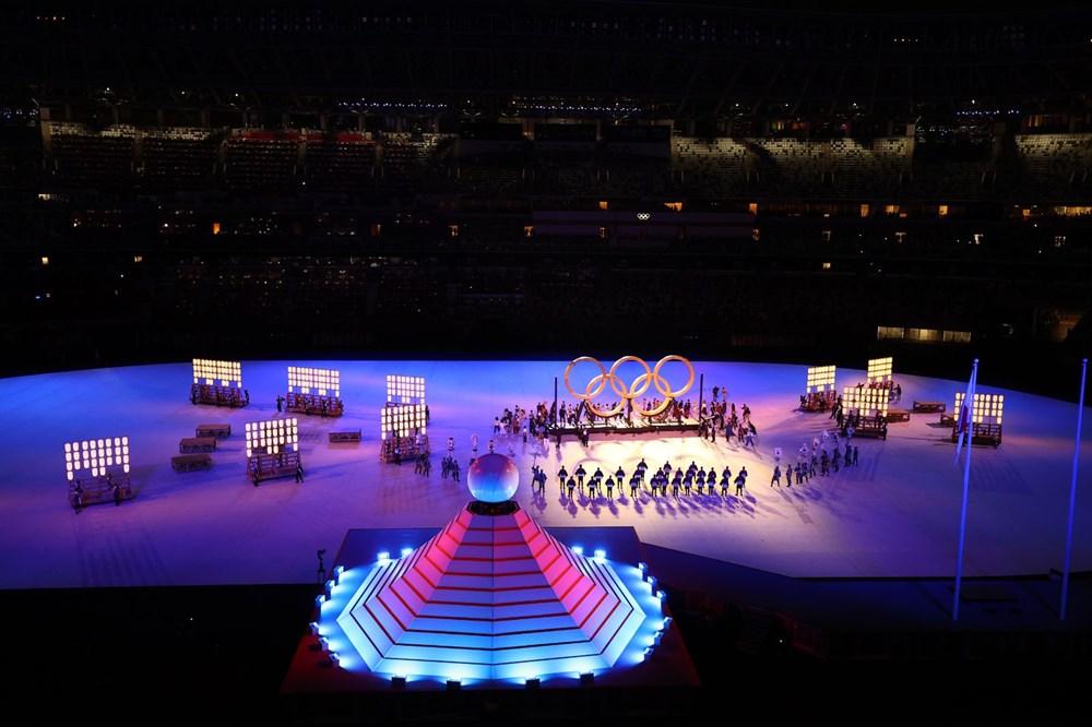 2020 Tokyo Olimpiyatları görkemli açılış töreniyle başladı - 39