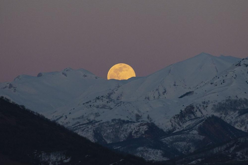 Yurttan 'Süper Solucan Ay' manzaraları - 17