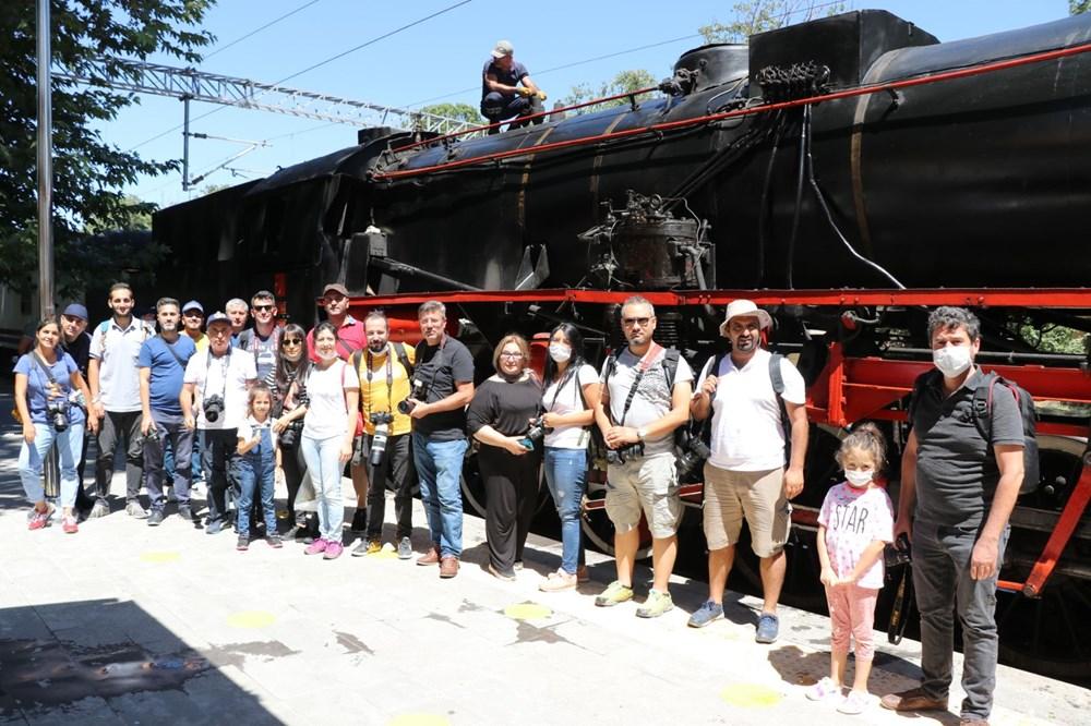 Atatürk'ü 100 yıl önce Pozantı'ya getiren buharlı kara tren yeniden Pozantı'da - 2