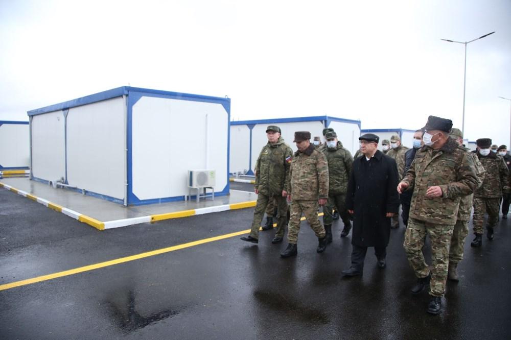 Dağlık Karabağ'da Türk-Rus Ortak Gözlem Merkezi faaliyete başladı - 9