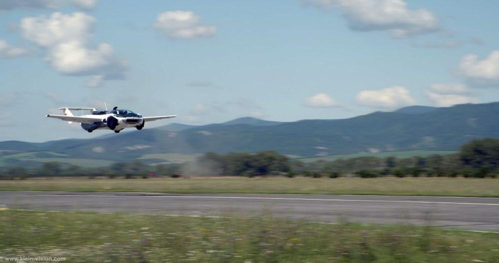 Uçan araba 35 dakikalık testi başarıyla tamamladı - 3