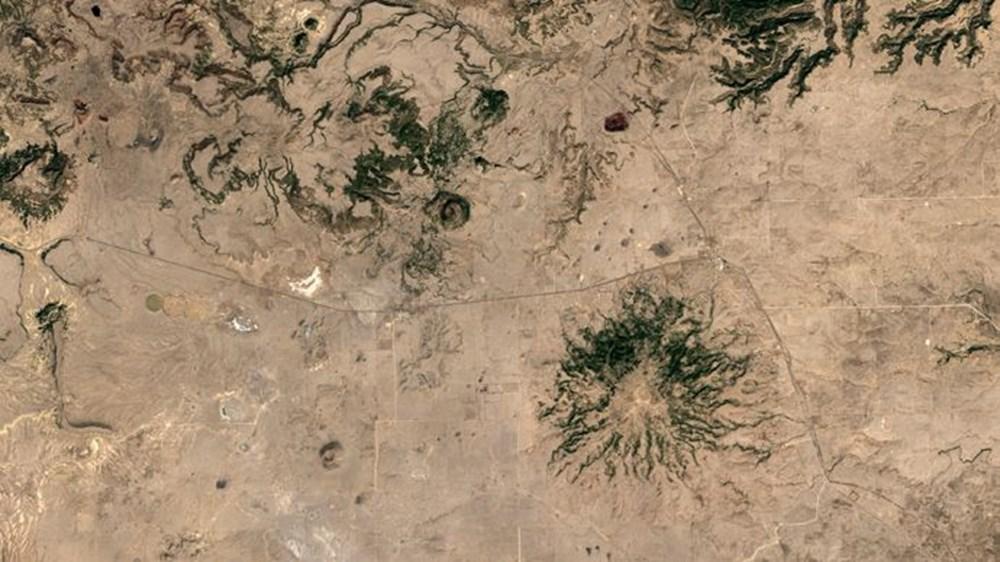 NASA Trump'ın 'büyük felaket' ilan ettiği yangınların uydu görüntülerini yayınladı - 12