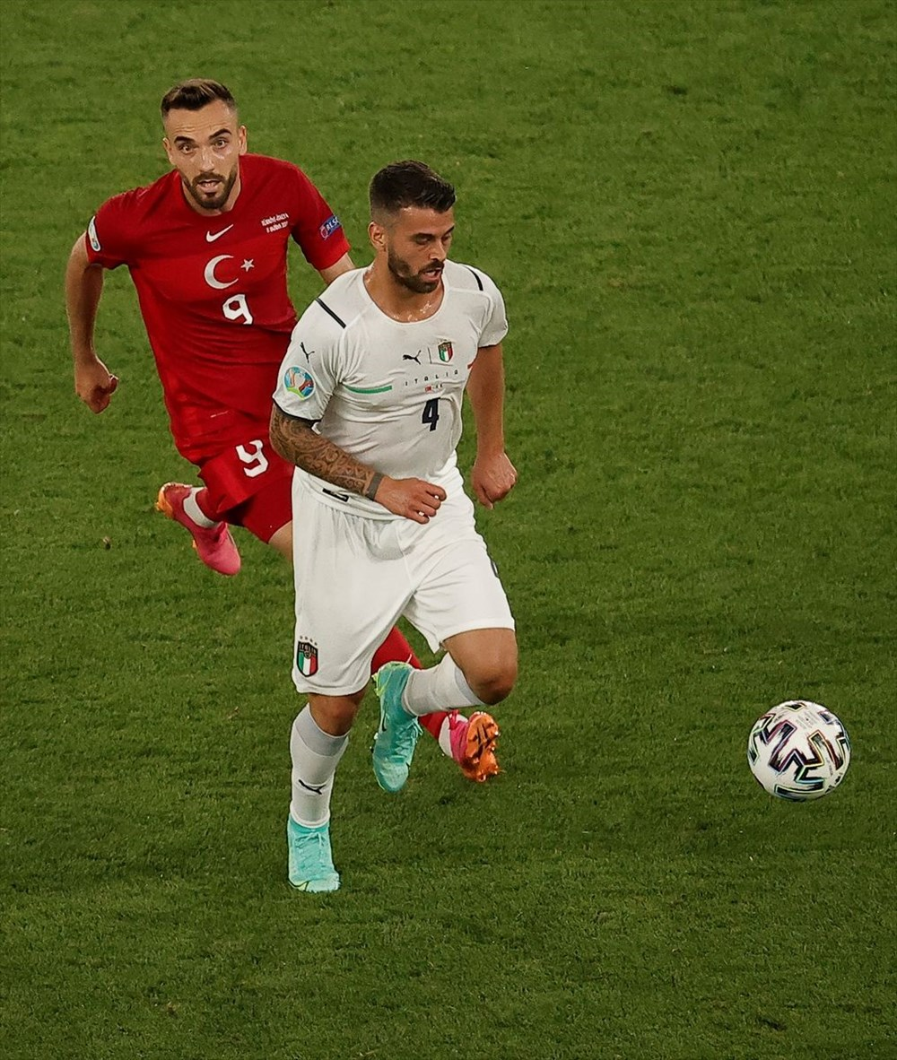 Milli Takım açılış maçında İtalya'ya yenildi (EURO 2020 - Türkiye:0 İtalya:3) - 6
