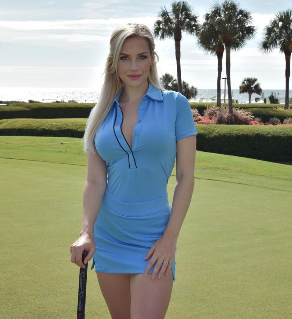 Golf yıldızı Paige Spiranac'ın her paylaşımı servet değerinde - 17