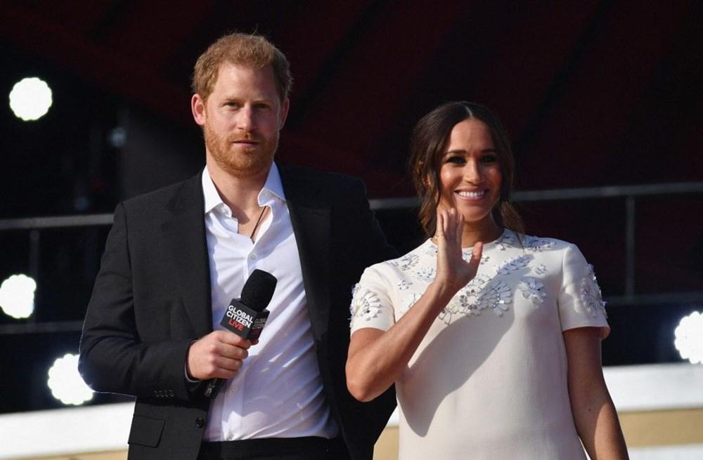 Meghan Markle ve Prens Harry Global Citizen etkinliğinde alay konusu oldu - 5