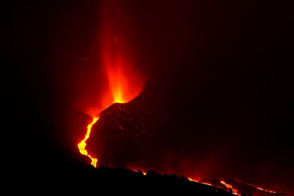 La Palma Yanardağı'nda lav akışı hızlandı: Onlarca ev daha yutuldu - 5