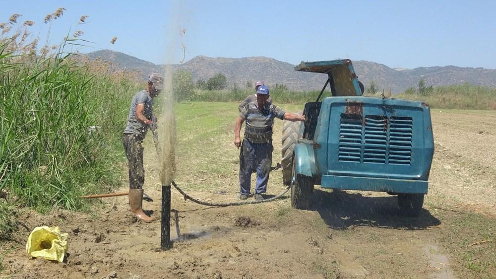 Büyük Menderes kuruyunca çiftçiler yer altı sularına yöneldi - 4