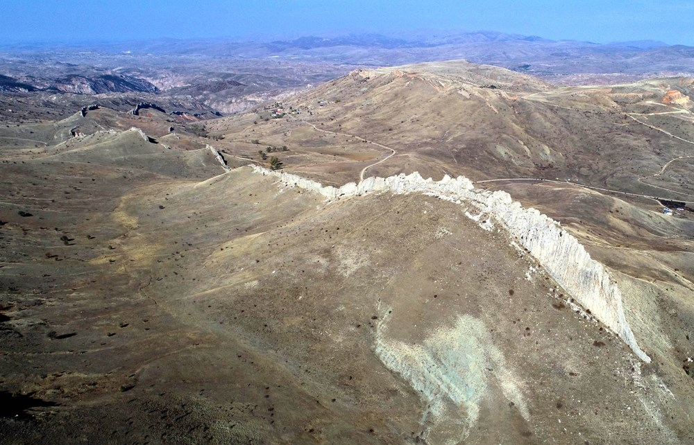 This is Sivas, not China!  Called the 'Natural Great Wall of China' - 2