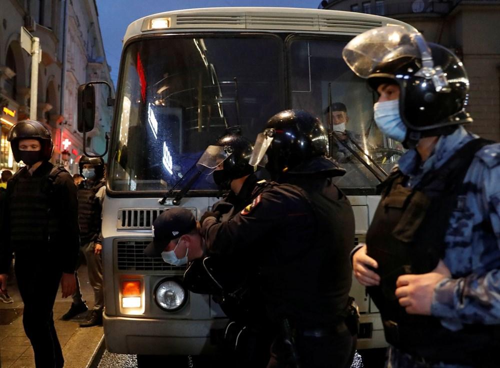 Rusya'da Putin karşıtı protesto: 130 gözaltı - 1