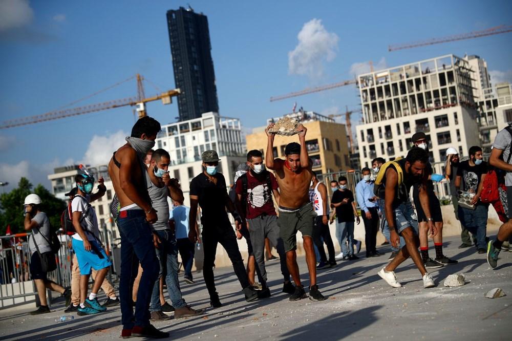 Lübnan'da hükümet karşıtı gösteri (Lübnan Başbakanı'ndan erken seçim açıklaması) - 6