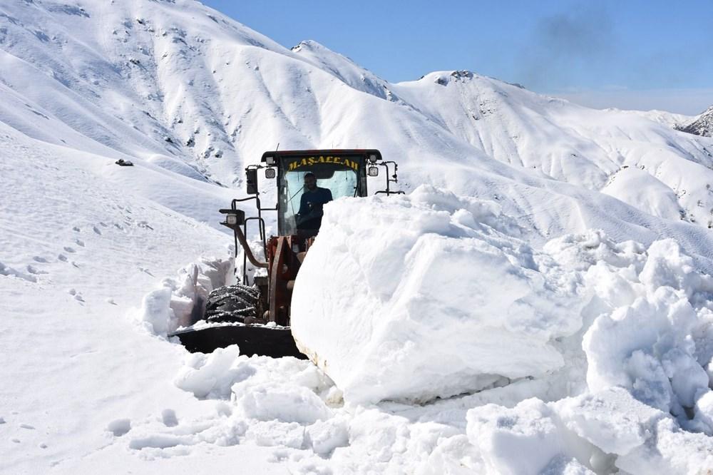 2 yıl önce 9 metre kar tutan Bitlis'te en kurak kış yaşanıyor - 11