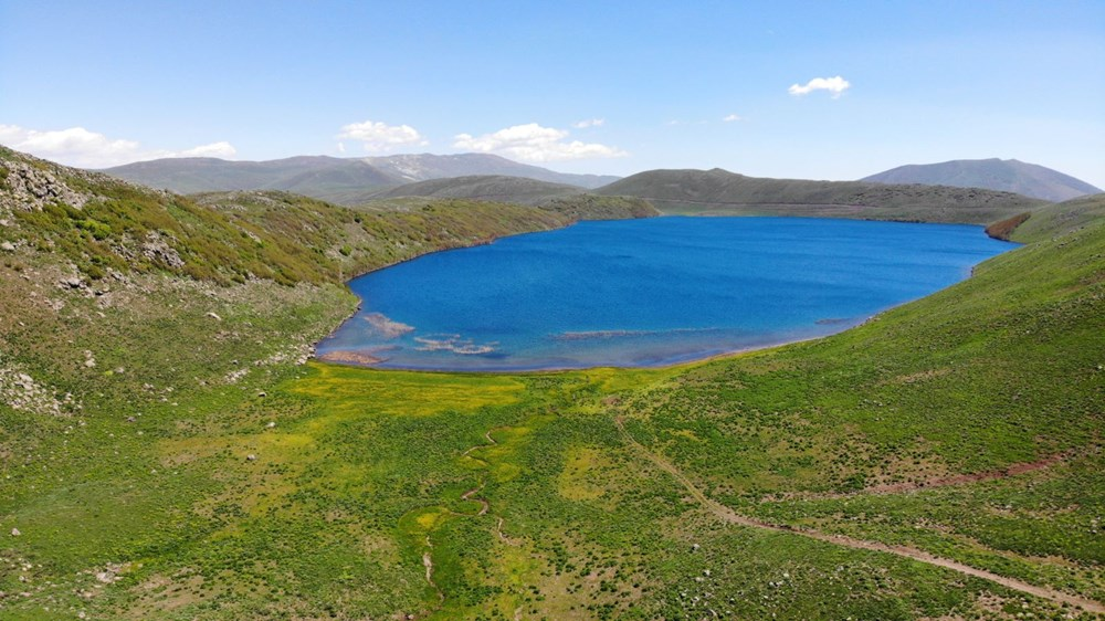 Muş'ta Hamurpet Gölleri görenleri doğasıyla mest ediyor - 16