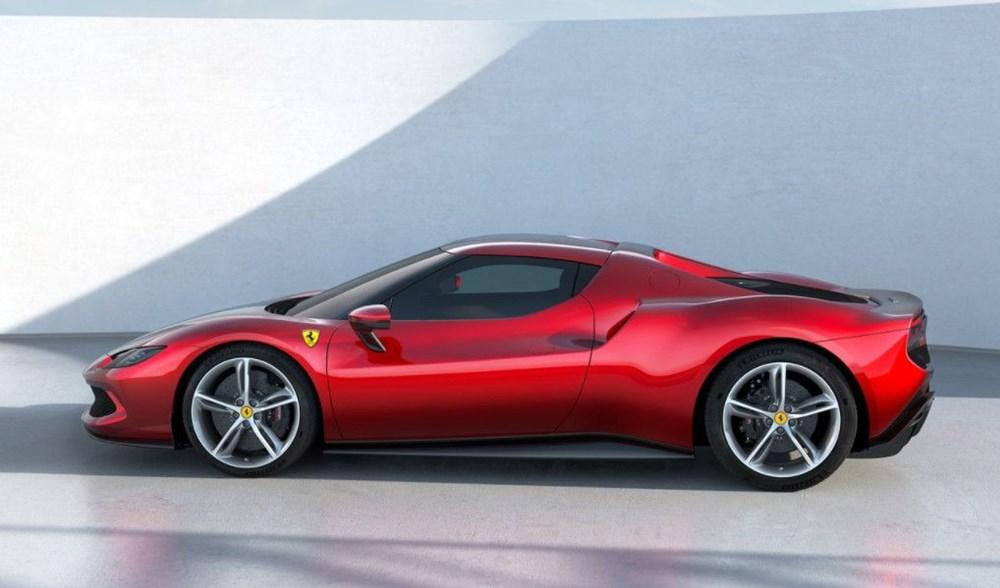 830 beygirlik hibrit Ferrari 296 GTB tanıtıldı - 2