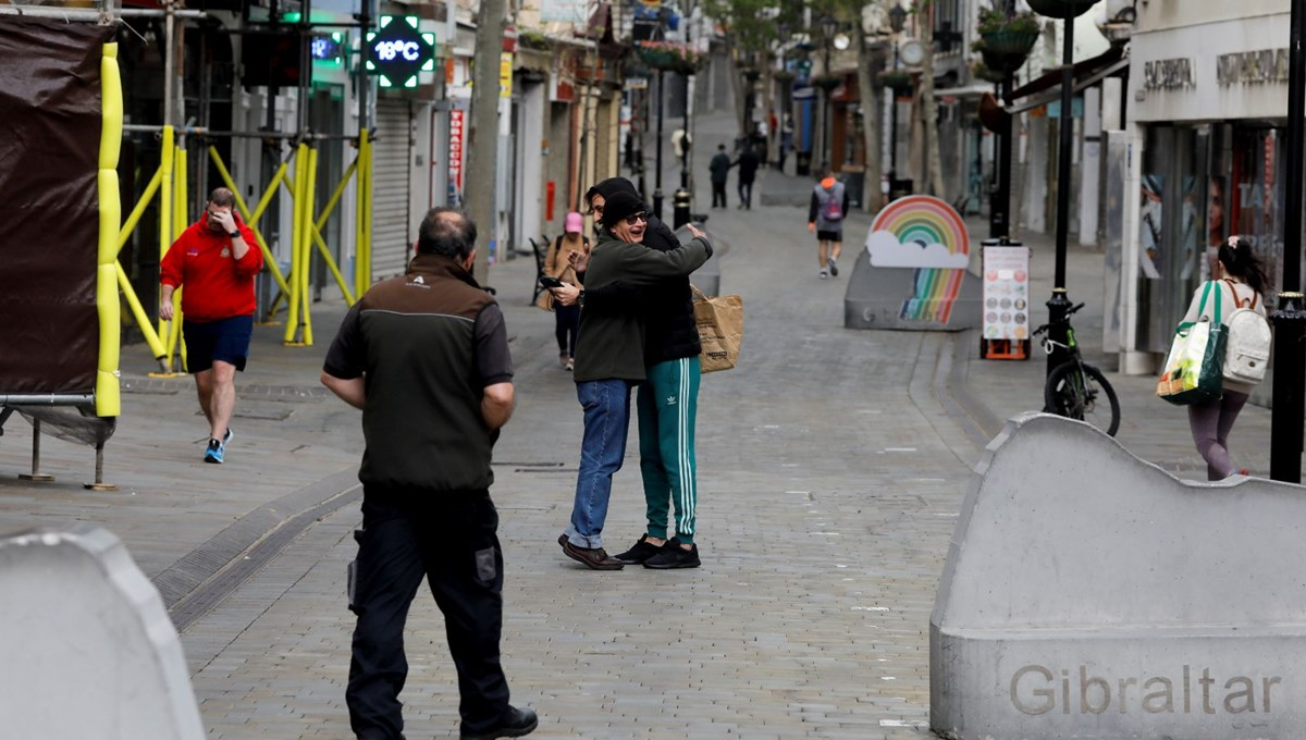 Life returns to normal in Gibraltar, which has vaccinated more than 90 percent of its adult population