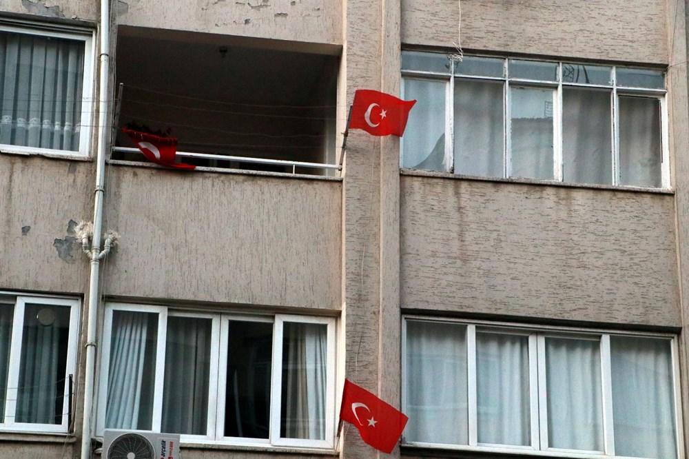 İskenderun'da patlamanın yaşandığı caddede teröre 'Türk bayraklı' tepki - 8