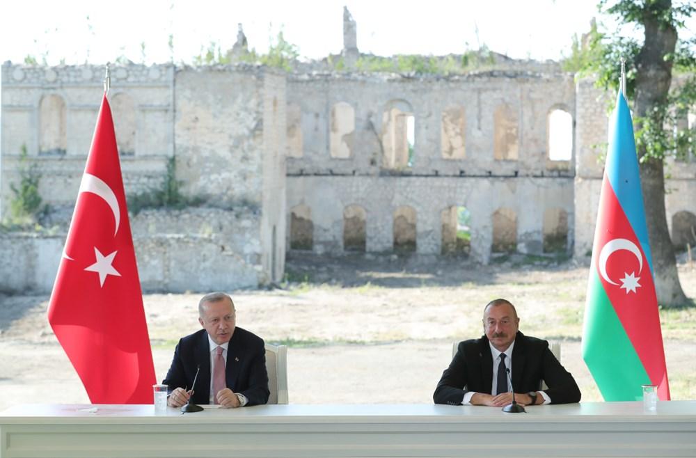 Cumhurbaşkanı Erdoğan ve Aliyev Şuşa Beyannamesi'ni imzaladı - 13