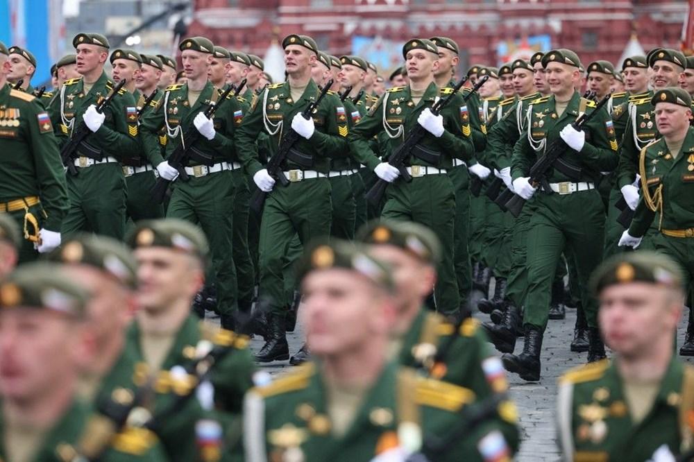 Rusya'da Zafer Günü kutlamaları: Moskova'da askeri geçit töreni - 12