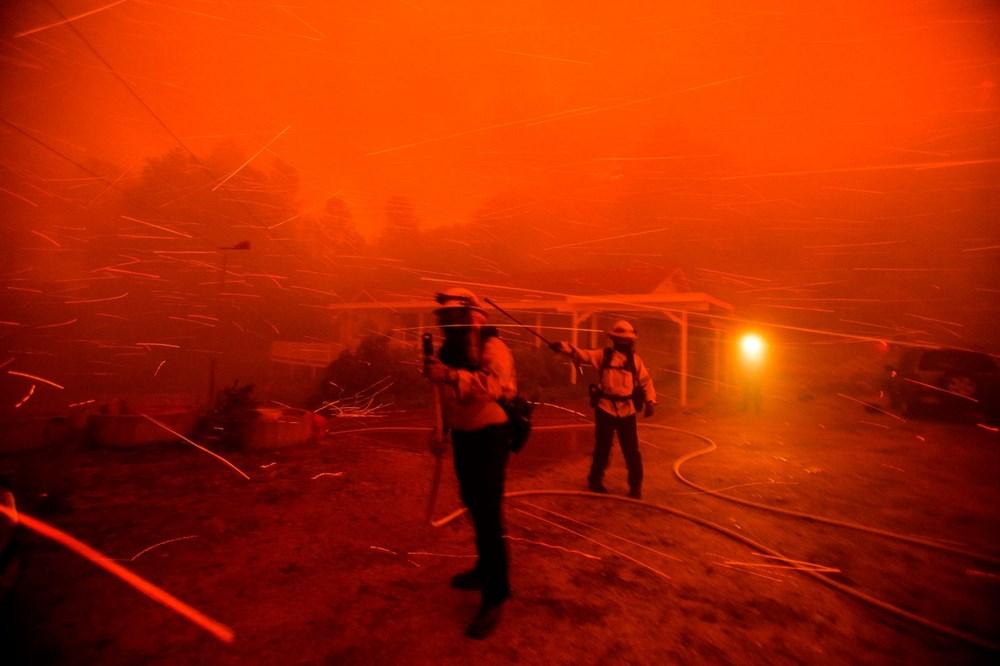 ABD'de 40 bin dönümlük yangın - 6