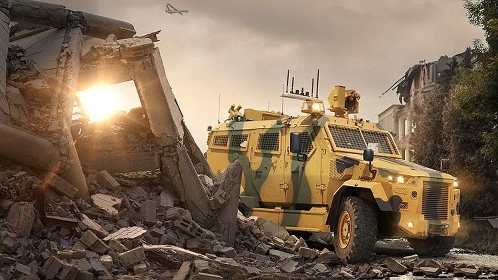 Dijital birliğin robot askeri Barkan göreve hazırlanıyor (Türkiye'nin yeni nesil yerli silahları) - 134