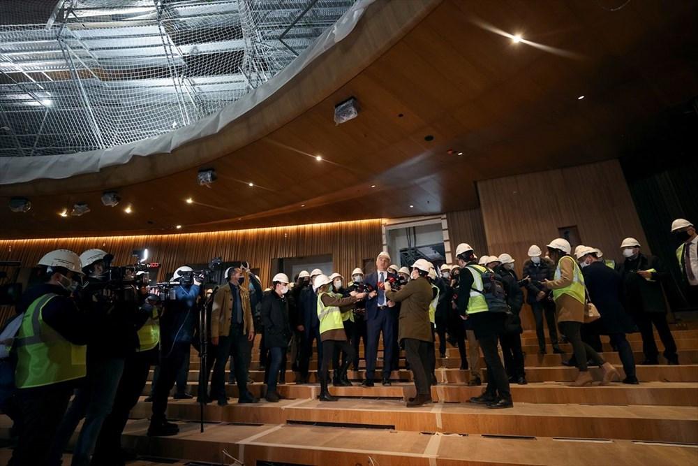 Kültür ve Turizm Bakanı Ersoy: AKM dünyadaki en önemli 10 kültür merkezi arasında yer alacak - 4