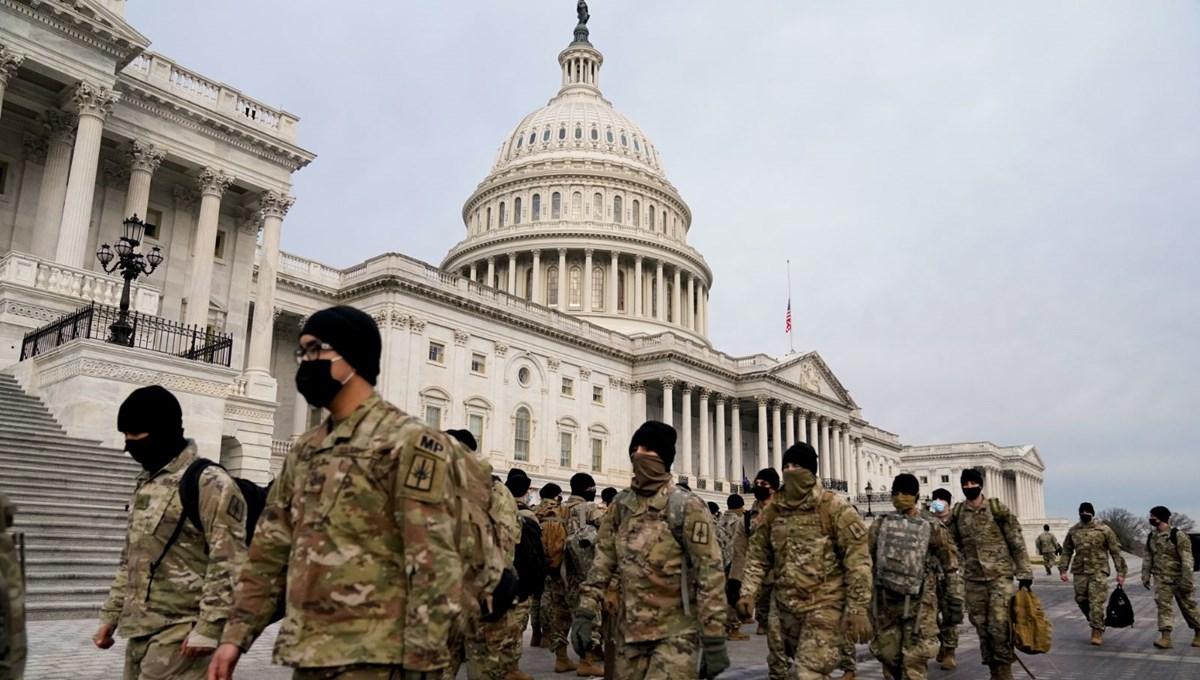 Trump'ın azil yargılamasında Kongre'yi 5 bin Ulusal Muhafız koruyacak