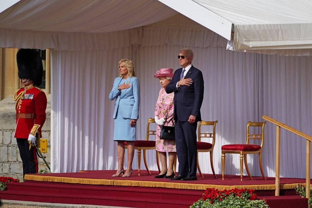 ABD Başkanı Biden, İngiltere Kraliçesi Elizabeth ile buluştu - 10