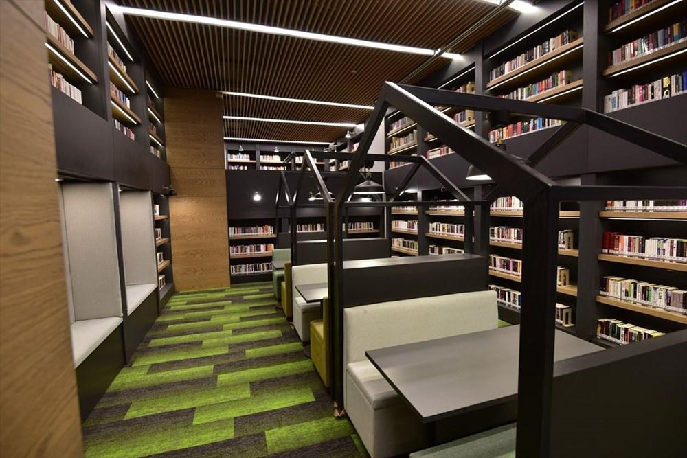 Bursa'da yapımı tamamlanan Mümine Şeremet Uyumayan Kütüphanesi açılıyor - 2