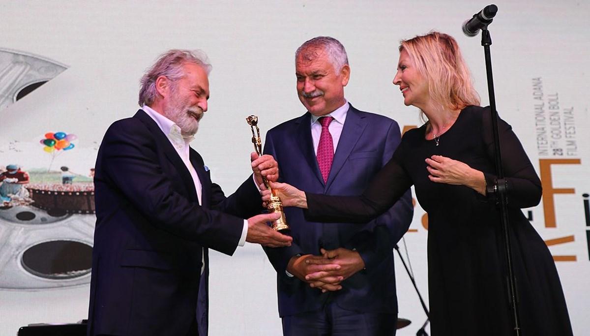 28. Uluslararası Adana Altın Koza Film Festivali'nde Yaşam Boyu Onur Ödülleri törenle verildi
