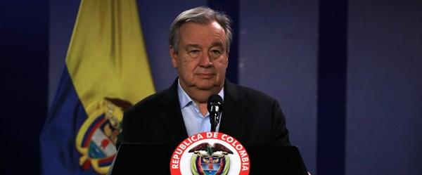 BM Genel Sekreteri Guterres: Soğuk savaştan beri görmediğimiz nükleer tehditle karşı karşıyayız
