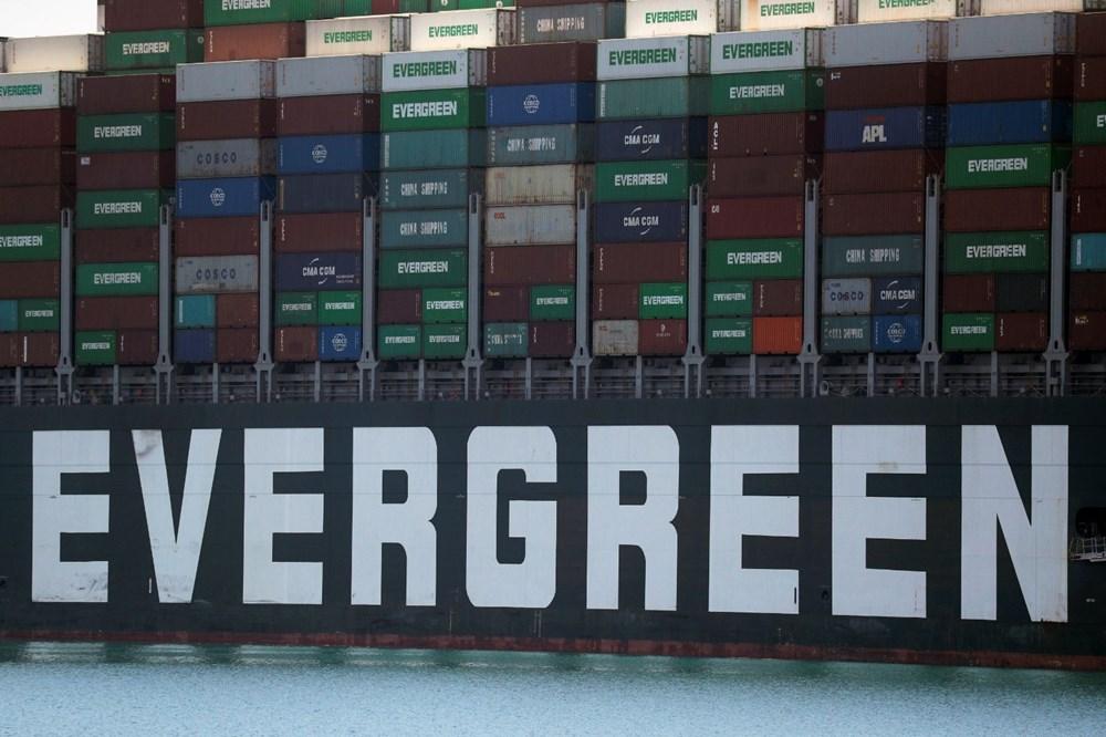Süveyş Kanalı'nı tıkayan gemi 108 gün sonra serbest - 9