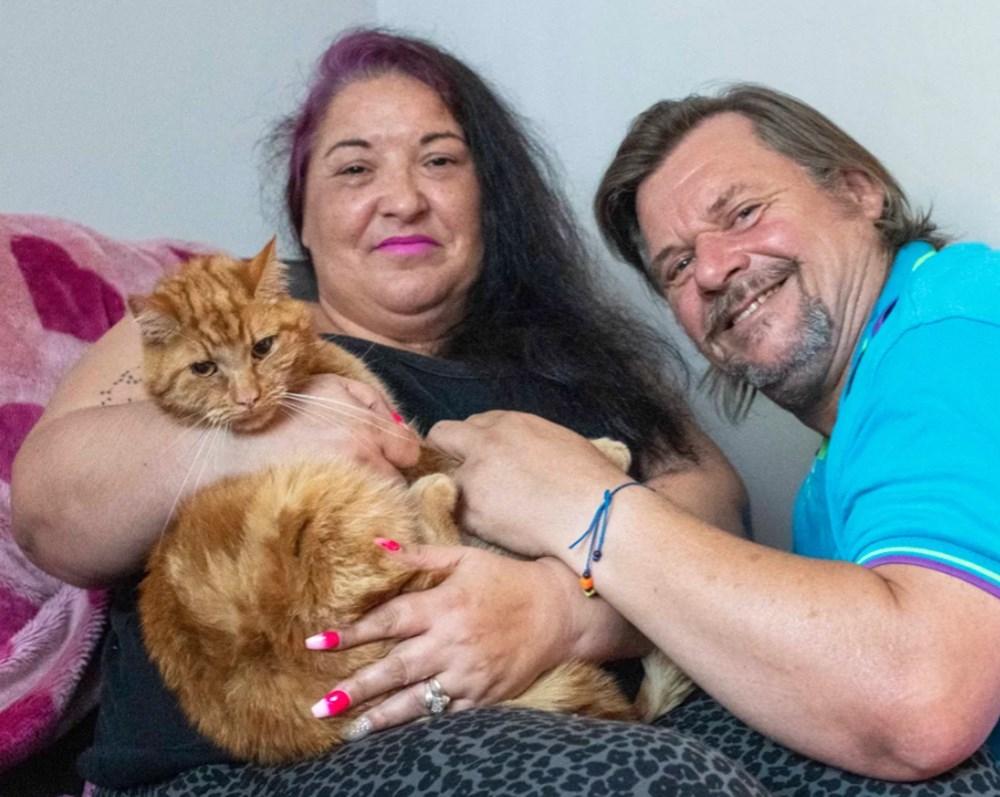 Garfield eski sahiplerini bulmak için 65 kilometre yolculuk yaptı - 5