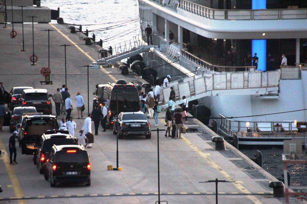 Katar kraliyet ailesi Bodrum'da: 2 kamyon eşya, 500 valiz - 7