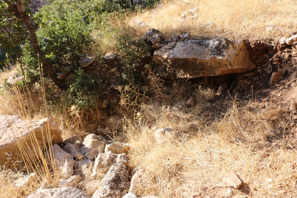 Palanlı Mağarası defineciler tarafından tahrip edildi - 7