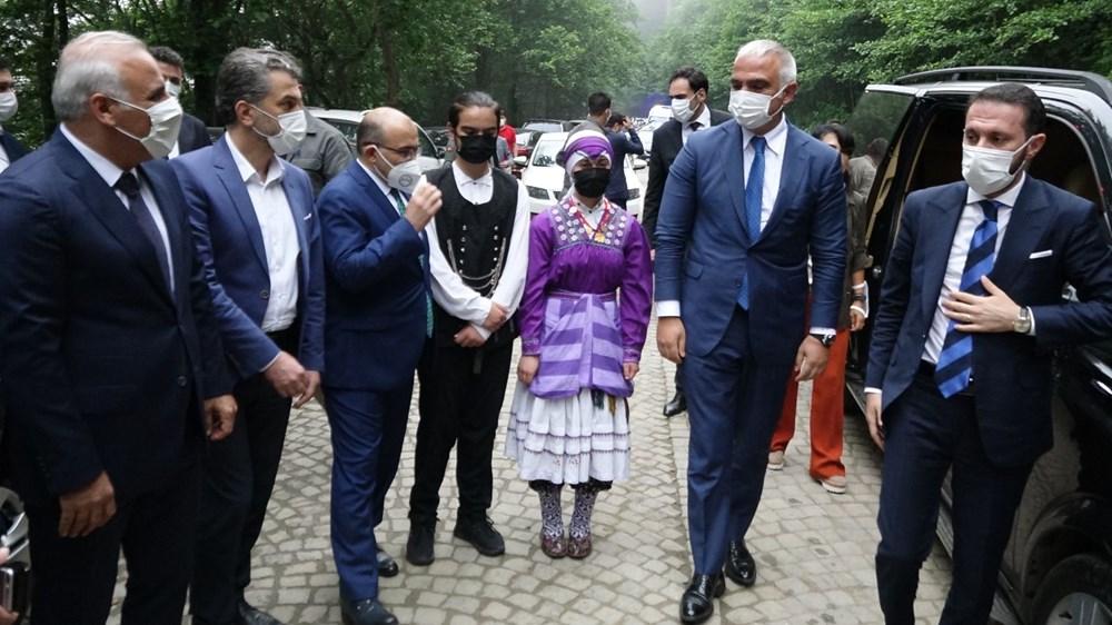 Sümela Manastırı 5 yıl sonra ziyarete açıldı - 17