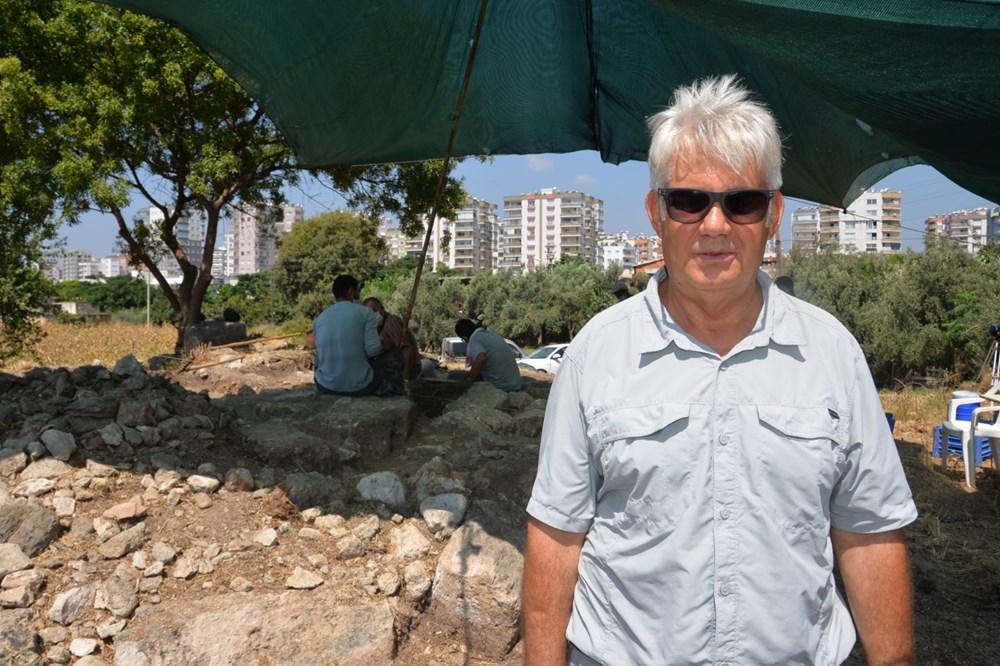 Astronominin kurucusu Aratos'un anıt mezarı için Soli Pompeiopolis'de kazı çalışmaları başladı - 3