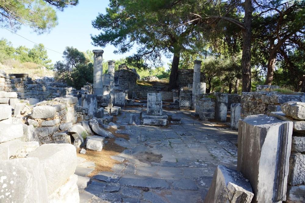 M.Ö. 4.yüzyılda kurulan ilk planlı şehir Priene - 13