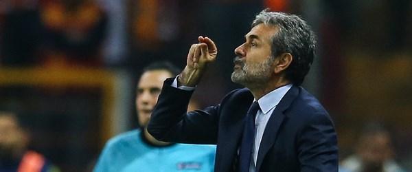 Aykut Kocaman: Galatasaray'a karşı yüzde 60'la oynadık