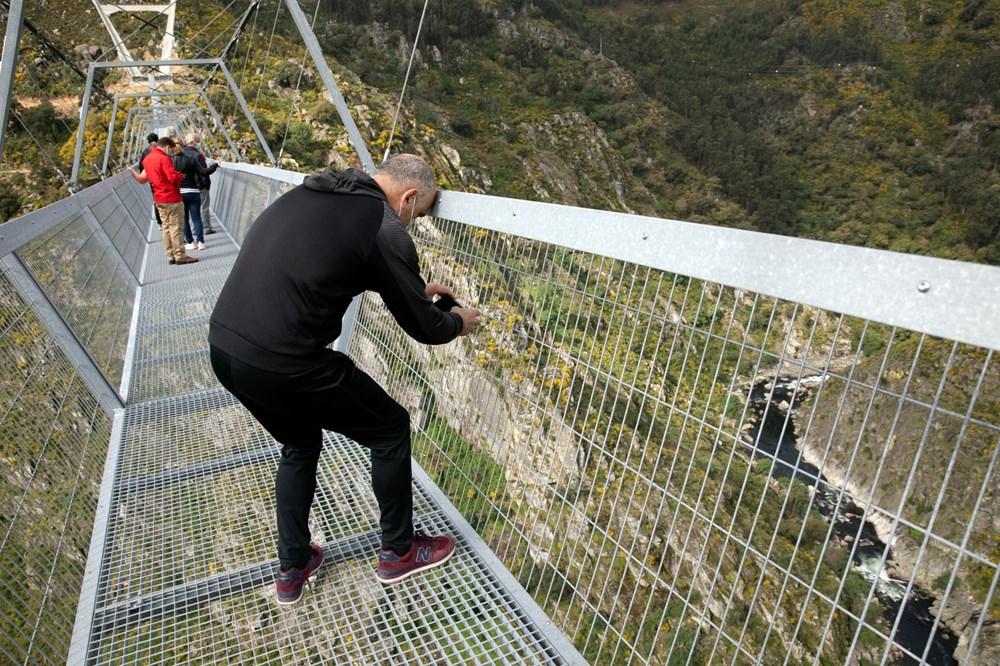 Yayalara özel en uzun asma köprü açıldı - 6