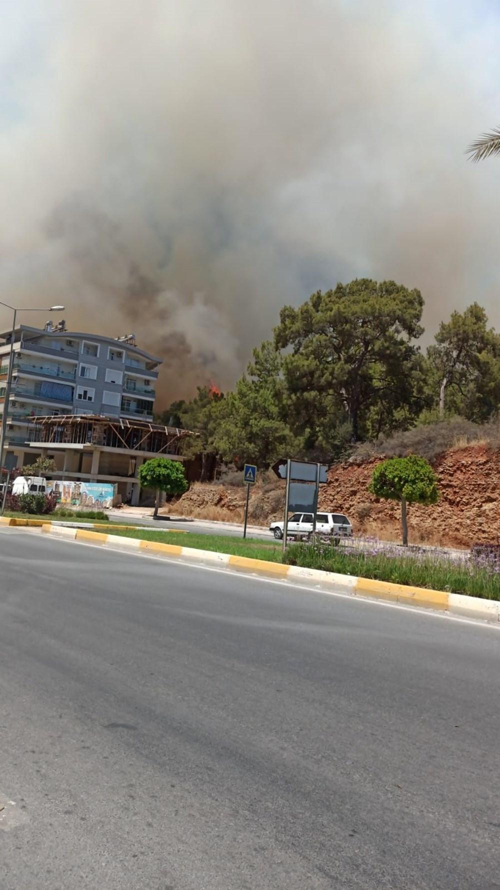 Antalya Manavgat'ta büyük yangın - 23