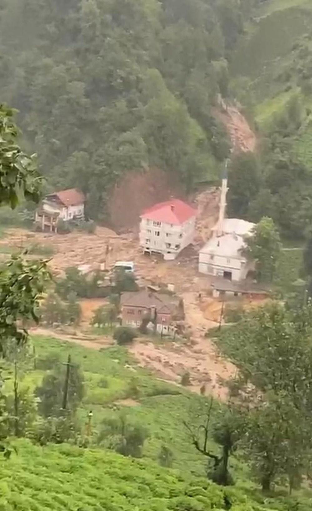 Şiddetli yağış Rize'yi de vurdu: 2 can kaybı - 38