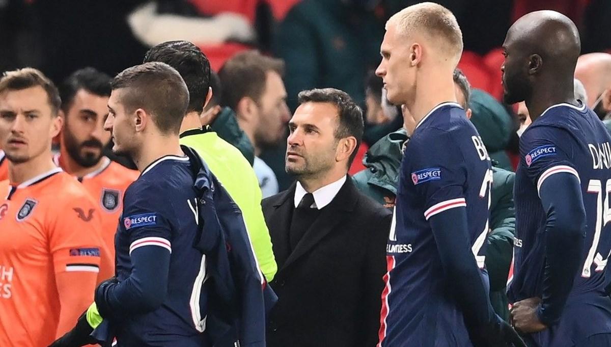 Başakşehir maçına ırkçılık ertelemesi