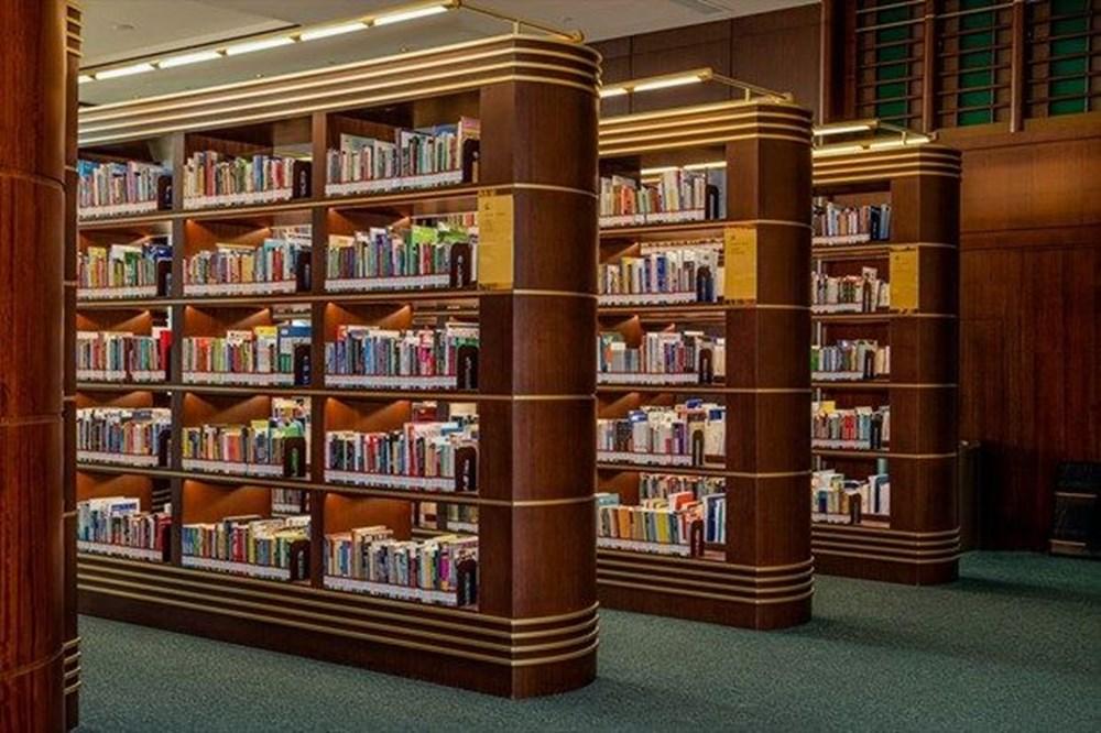 Cumhurbaşkanlığı Millet Kütüphanesi'ni 1 yılda yaklaşık 342 bin kişi ziyaret etti - 1
