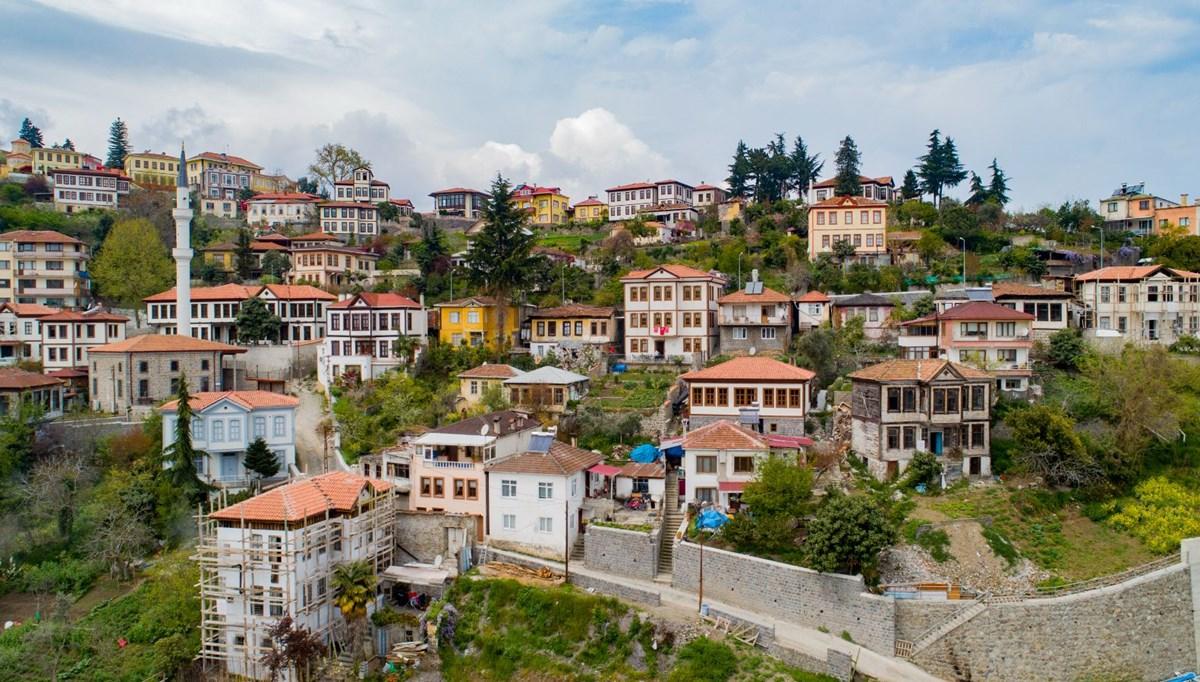 'Doğu Karadeniz'in Safranbolu'su' Orta Mahalle tarihi yolculuğa çıkarıyor