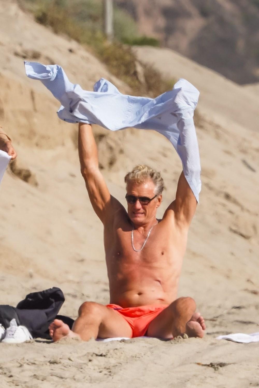 Rocky filminin yıldızı Dolph Lundgren 38 yaş küçük nişanlısıyla tatilde - 8