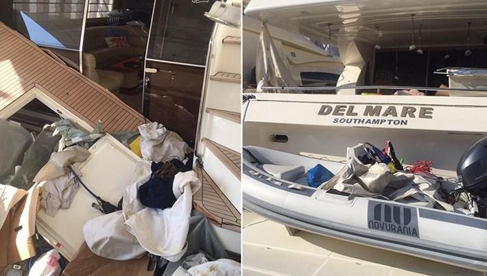 Bodrum'da lüks teknede patlama: 3 yaralı