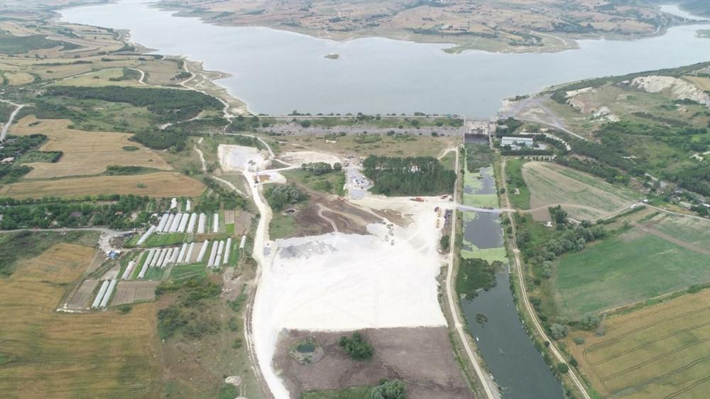 Kanal İstanbul'da temelin atılacağı nokta - 6