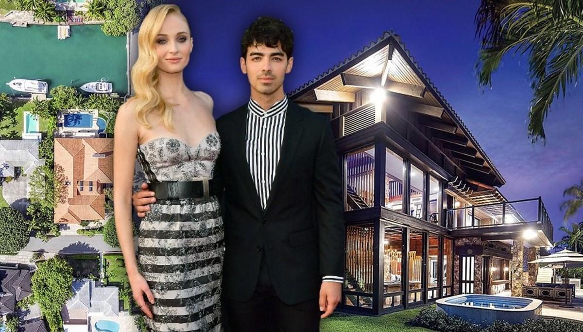 Sophie Turner ve Joe Jonas'ın 11 milyon dolarlık devasa malikanesi