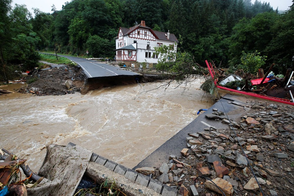 Flood disaster in Germany: The death toll reached 95 - 4