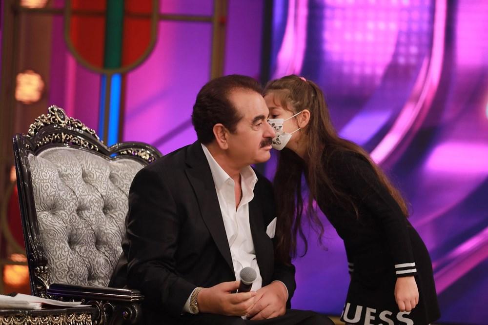 İbo Show yeni bölüm fotoğrafları: İbrahim Tatlıses'in kızı Elif Ada ilk kez stüdyoda - 8