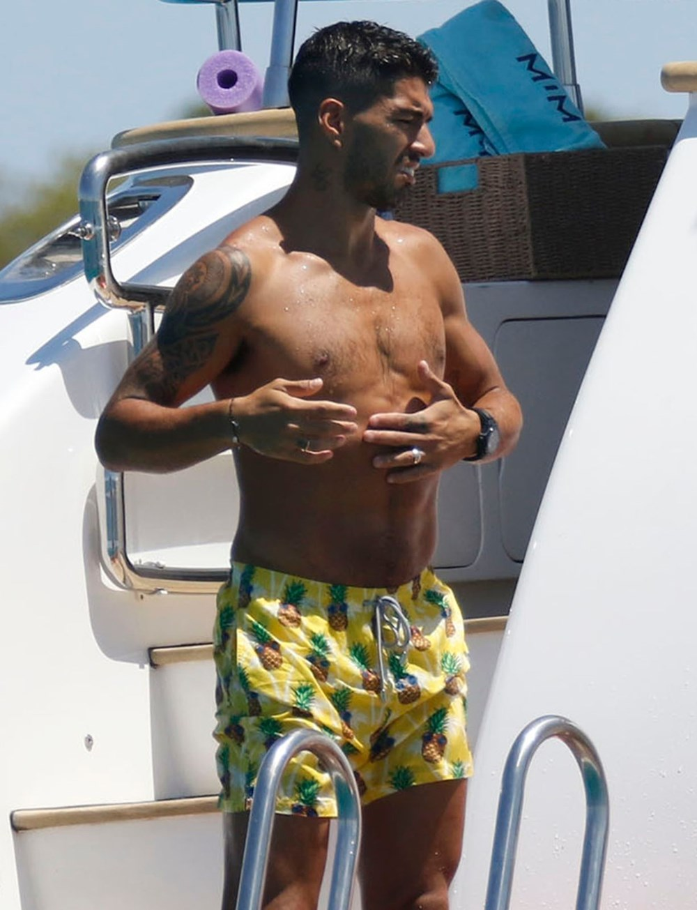 Lionel Messi'nin Ibiza'daki romantik tatili - 13